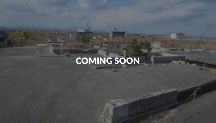 震災遺構 仙台市荒浜地区住宅基礎